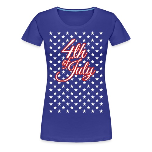 4th-of-july-final-6-res - Women's Premium T-Shirt