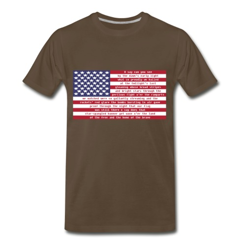 National Anthem Kid's T-Shirt - Men's Premium T-Shirt