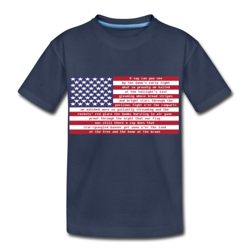 National Anthem Men's T-Shirt - Kids' Premium T-Shirt