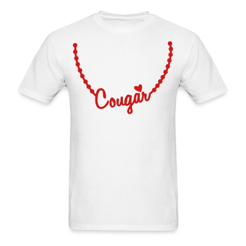 Custer Cougar - Men's T-Shirt