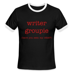 Writer Groupie - Men's Ringer T-Shirt