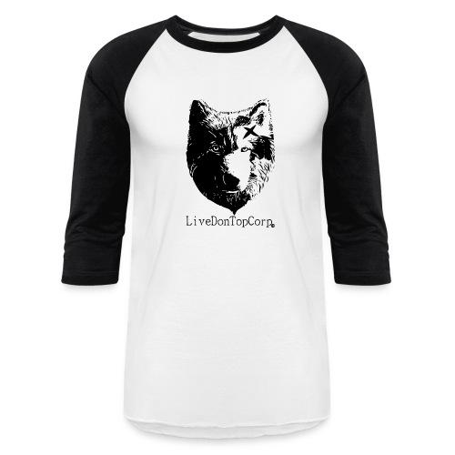 On Top wolf baseball tee - Baseball T-Shirt