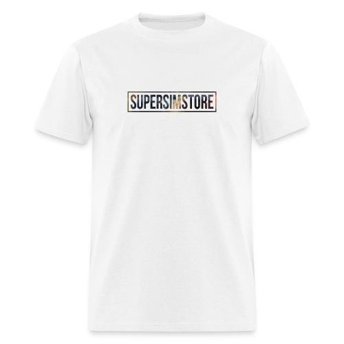 SuperSimStore Blurred - Men's T-Shirt