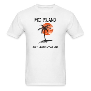 Stranded on Pig Island Men's T-shirt - Men's T-Shirt