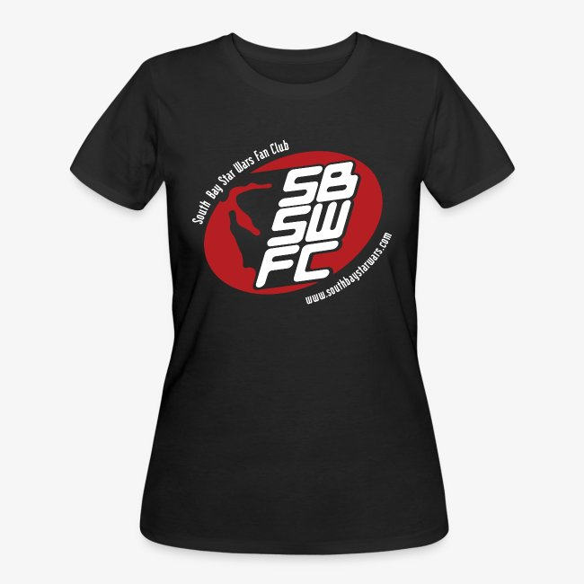 Women's Black SBSWFC Logo Jerzees Tee