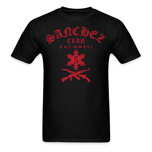 Scott Red Sanchez Clan T-Shirt - Men's T-Shirt