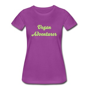 Vegan Adventurer women's tee - Women's Premium T-Shirt