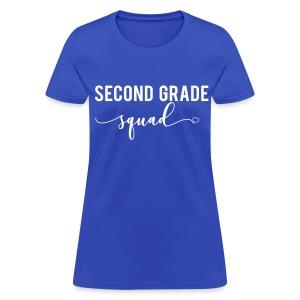 second grade squad - Women's T-Shirt
