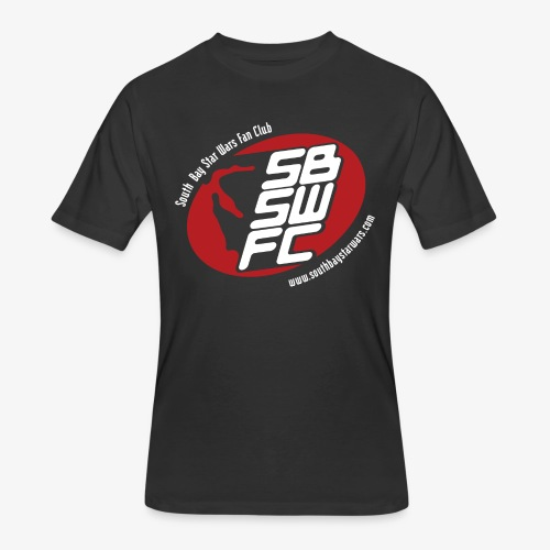 Men's Black SBSWFC Logo Jerzees Tee - Men's 50/50 T-Shirt