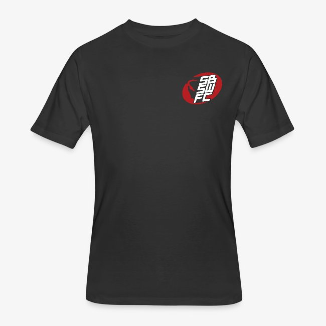 Men's Black Dual SBSWFC Logo Jerzees Tee