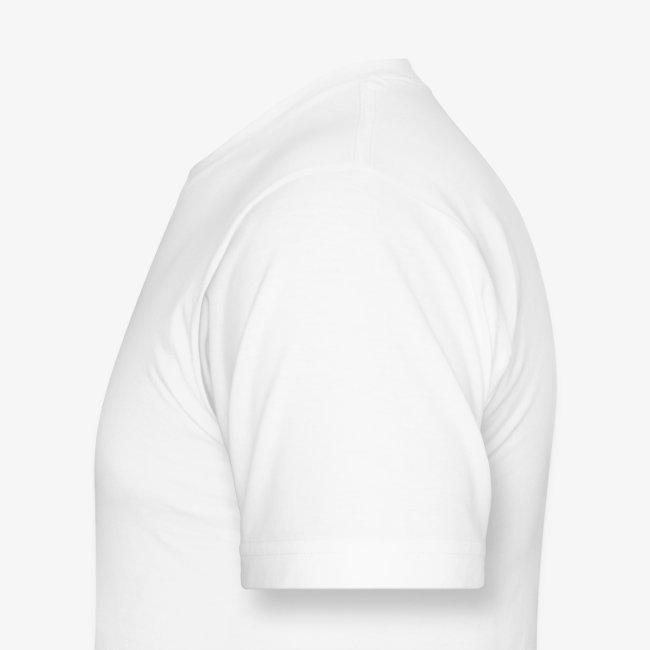 Men's White Dual SBSWFC Logo American Apparel Tee