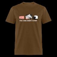 T-Shirts ~ Men's T-Shirt ~ Men's Pigs, Cows, Sheep 'n' Stuff T-Shirt