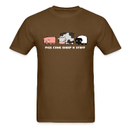 T-Shirts ~ Men's T-Shirt ~ Men's Pigs, Cows, Sheep 'n' Stuff T-Shirt