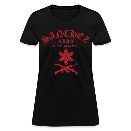 Scott Red Sanchez Clan Women's T-Shirt - Women's T-Shirt