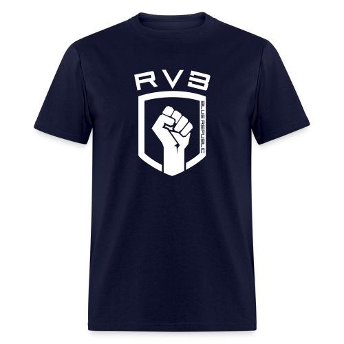 RVB Blue - Chest - Men's T-Shirt