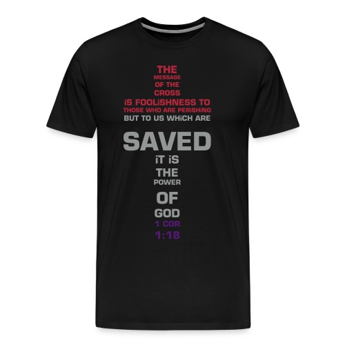 THE CROSS!  - Men's Premium T-Shirt