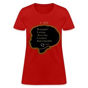 Black Queen Red Shirt - Women's T-Shirt