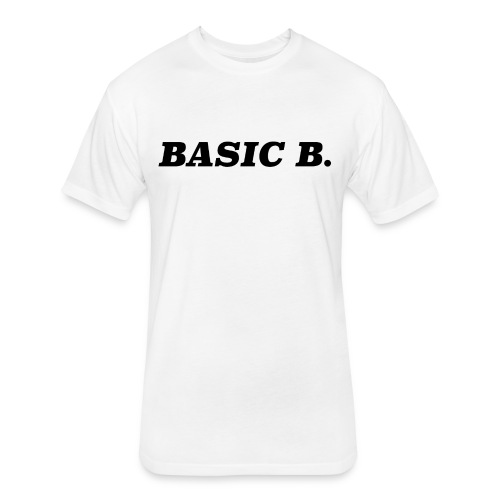 Basic - Fitted Cotton/Poly T-Shirt by Next Level