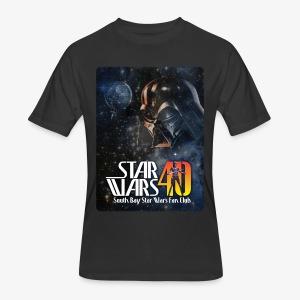 Men's Black SBSWFC 40th Anniversary Jerzees Tee - Men's 50/50 T-Shirt