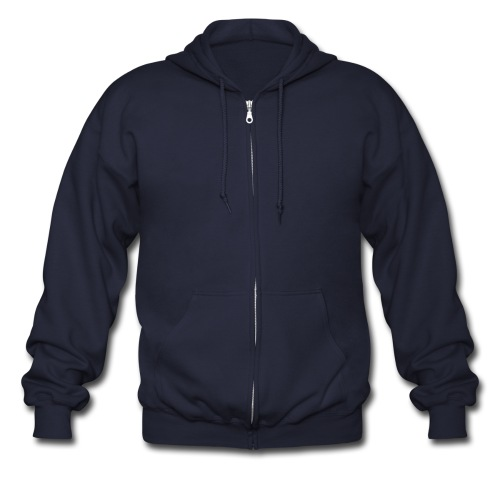 Mid Life Gaming Official Fan (On Back) - Men's Zip Hoodie