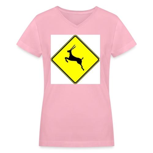 #phishatmsg - Women's V-Neck T-Shirt