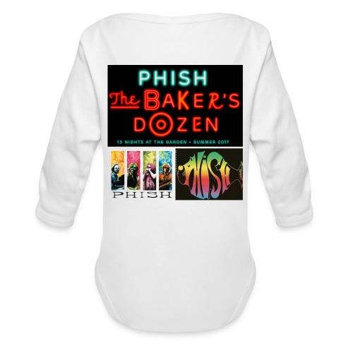 #phishatmsg - Organic Long Sleeve Baby Bodysuit