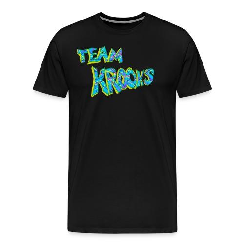 Team Krooks Text - Men's Premium T-Shirt