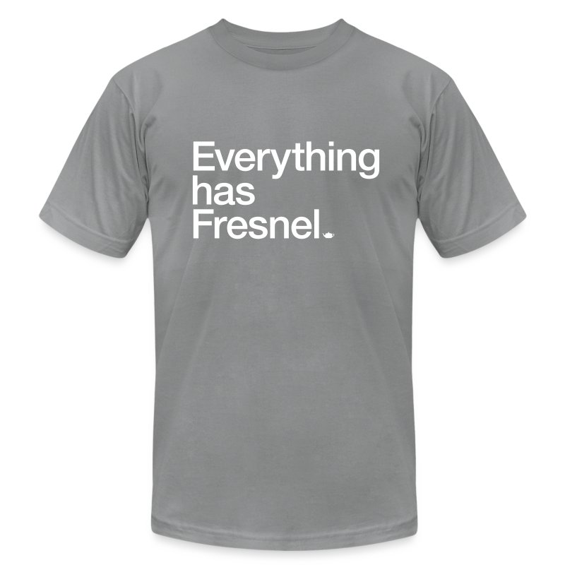 Everything has Fresnel - Men's Fine Jersey T-Shirt