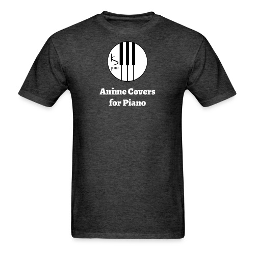 Anime Covers for Piano Men's - Men's T-Shirt