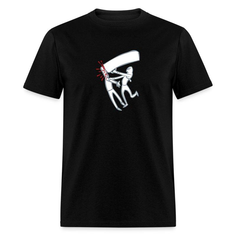 whack_3clr - Men's T-Shirt