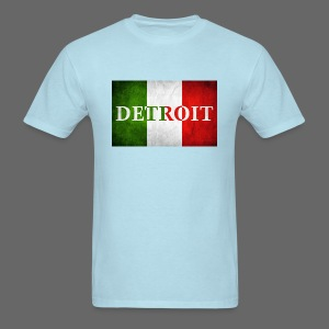 Detroit Italian Flag - Men's T-Shirt