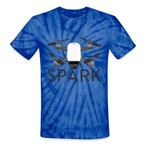 DJI Spark - Tie Die - Unisex Tie Dye T-Shirt