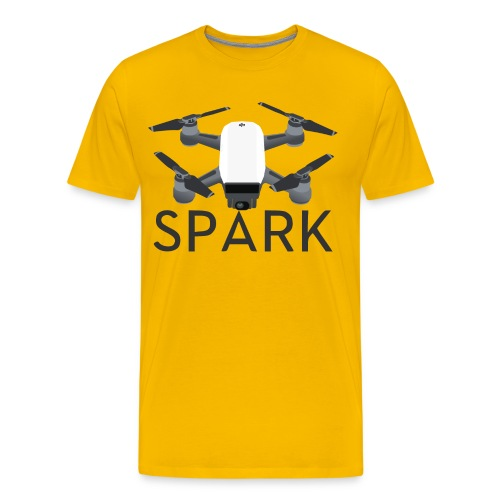 DJI Spark - Men's Premium T-Shirt