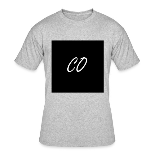 CO Signature Grey T-shirt - Men's 50/50 T-Shirt