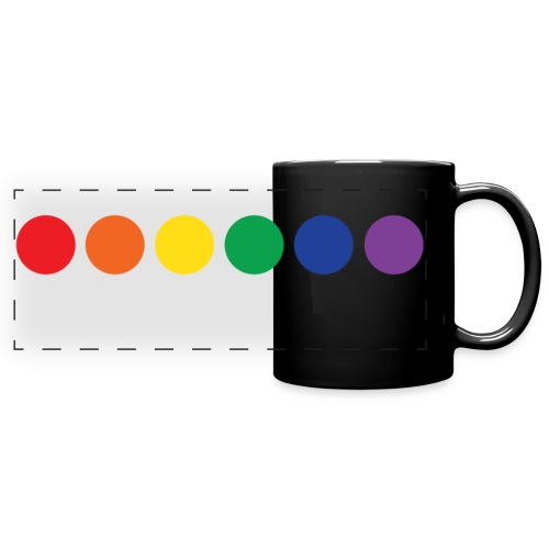 Gay Pride. Wrap-around Mug. - Full Color Panoramic Mug