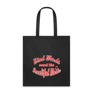 Inspiring Words Tote Bag - Tote Bag