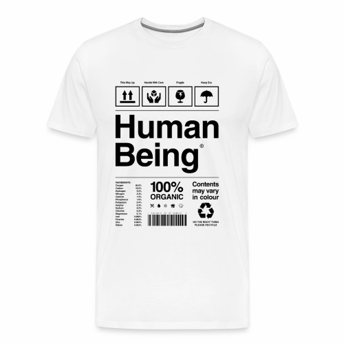 Human Being - Men's Premium T-Shirt