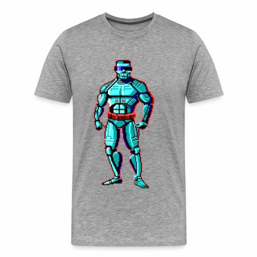 Pixel Android - Men's Premium T-Shirt