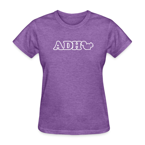 ADHD Squirrel - Women's T-Shirt