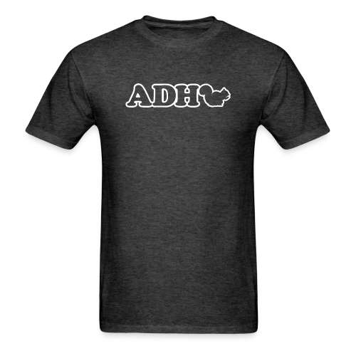 ADHD Squirrel - Men's T-Shirt