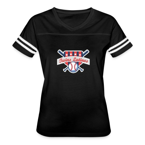 Camisa Sport - Twins Latinos para Mujer - Women's Vintage Sport T-Shirt