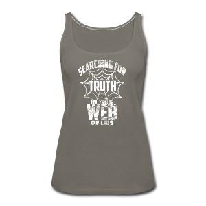 Web of lies  - Women's Premium Tank Top