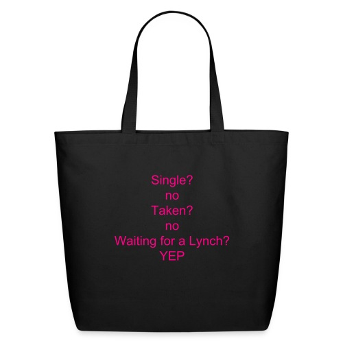 Waiting for a lynch tote bag - Eco-Friendly Cotton Tote