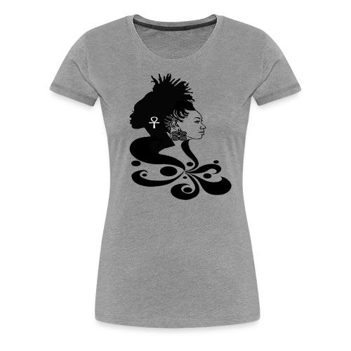 DIVINE BLACK - Women's Premium T-Shirt