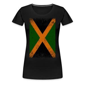 Jamaican Flag tee - Women's Premium T-Shirt