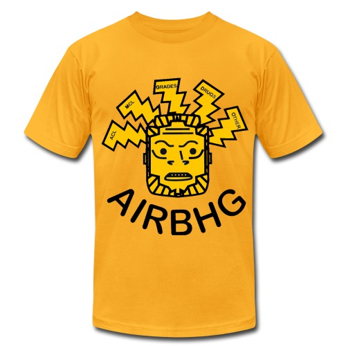 AIRBHG - Men's T-Shirt by American Apparel