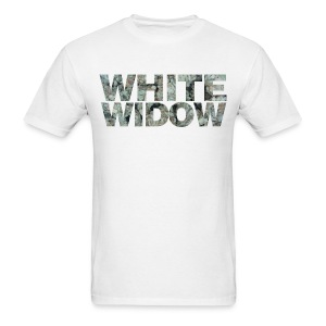 WHITE WIDOW (White) - Men's T-Shirt