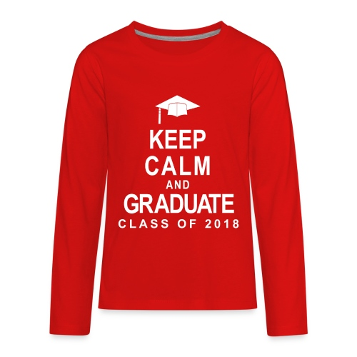 Class of 2018 - Kids' Premium Long Sleeve T-Shirt