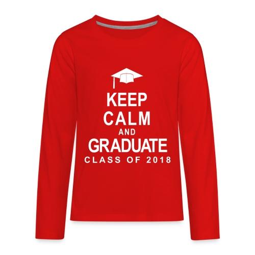 Class of 2018 - Kids' Premium Long Sleeve T-Shirt