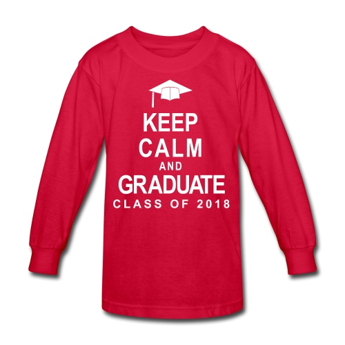 Class of 2018 - Kids' Long Sleeve T-Shirt